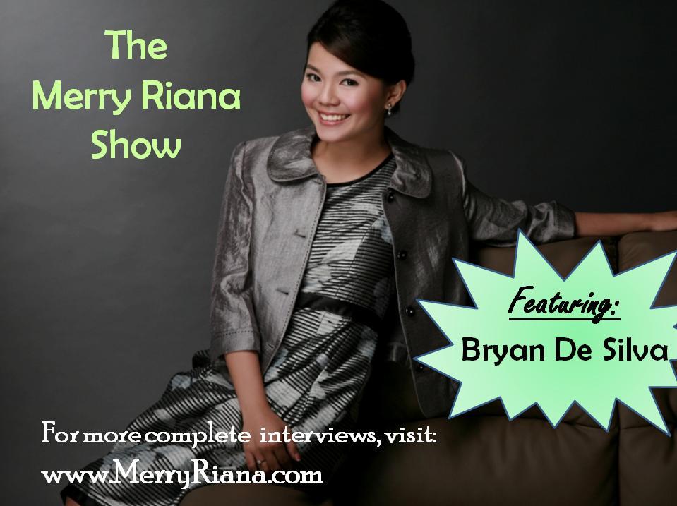 The Merry Riana Show - Bryan De Silva