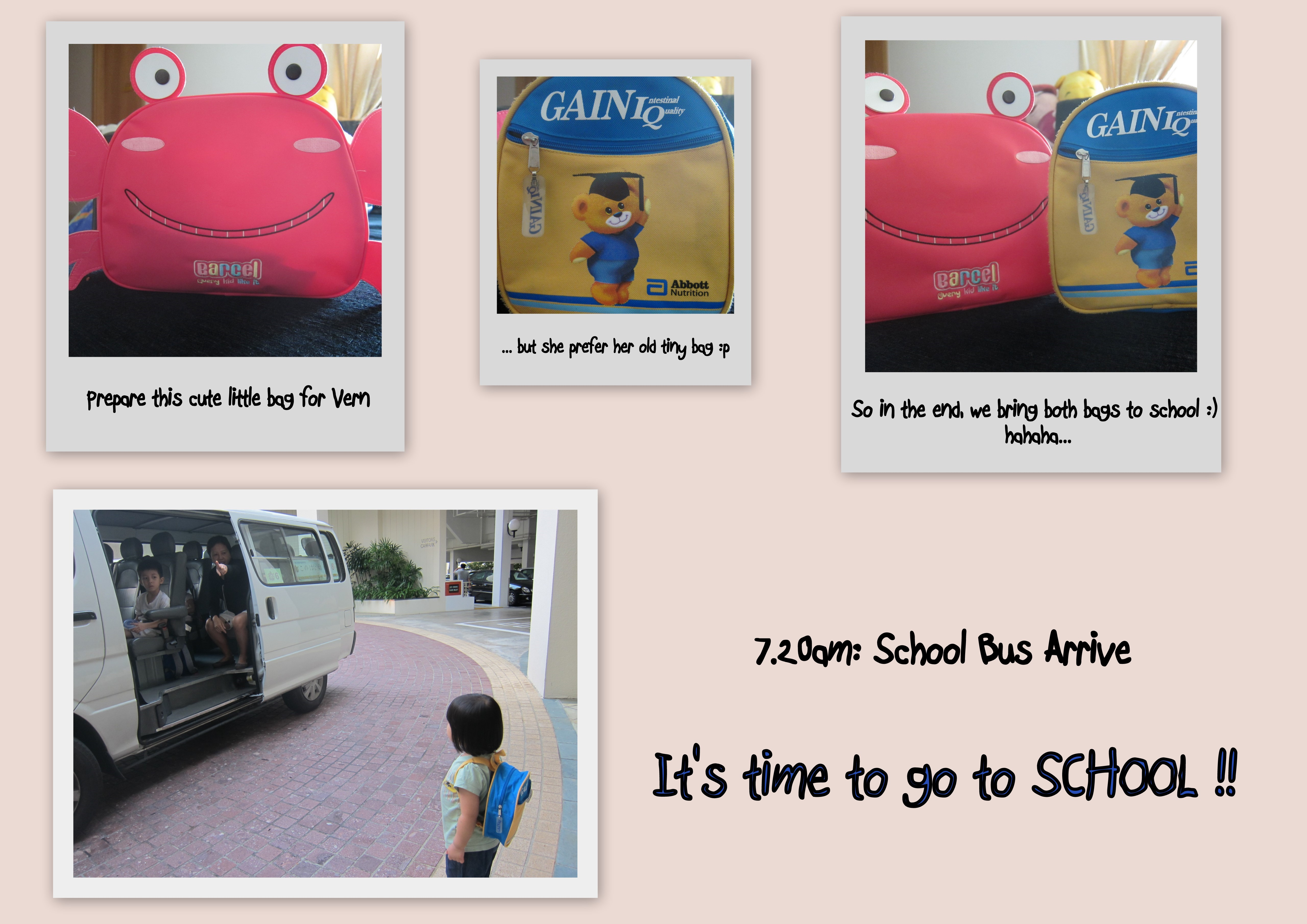 Alvernia first day at school 1
