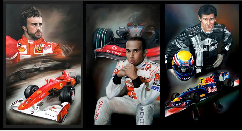 Hamilton, Alonso, F1 Drivers
