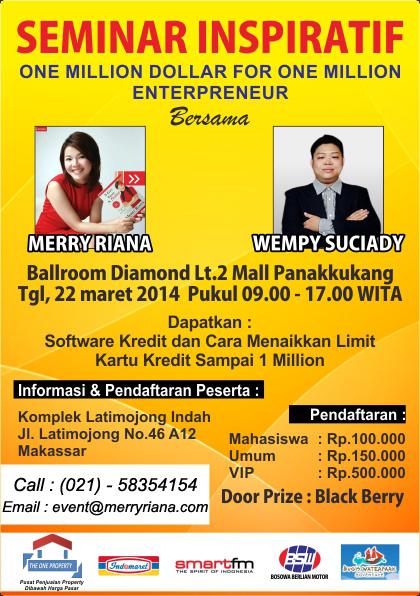 Poster - Seminar 22 Maret 2014 @ Makassar